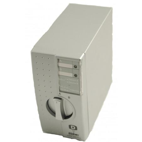 Restlager: 2-ports manuel omskifter til DVI