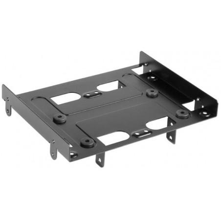 HDD monteringssæt 2,5/3,5 til 5,25 drev, sort