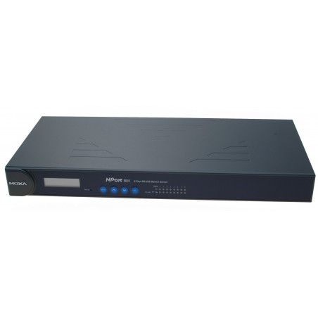 8 ports universel serielportserver med 8 x RS232 til 10/100 BaseT Device server. MOXA N-Port NP-5610- 8