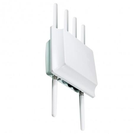 2000Mbit 2,4/5GHz udendørs Wifi Access Point / Bridge / Router med IP66 tæthed