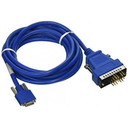 Cisco RS232 seriel kabel CAB-SS-V35MT. Cisco Smart RS232 Serial 26 Pin DTE to V.35 Male cable, 3,5m, blå