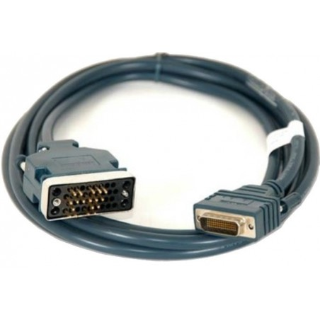Cisco kabel. CAB-V35MT Cisco Compatible LFH60 Male to V35 Male DTE Cable, Grå, 3,0 m