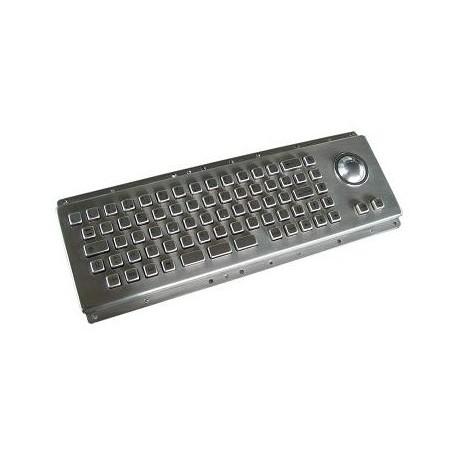 Restlager: Industiel Keyboard Metal IP65,USB,svensk tegnsæt