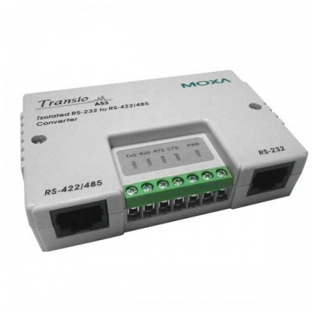 Optoisoleret RS232 til RS-422/485 konverter m. skrueterminal