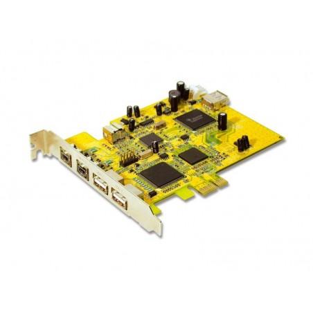 PCI Express USB 2.0, 2xUSB, 3xFirewire