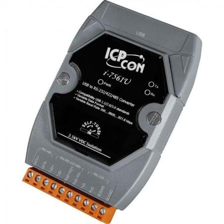 USB til RS232, RS422 eller RS485 konverter op til 921,6 kbps 3000V DC isolation