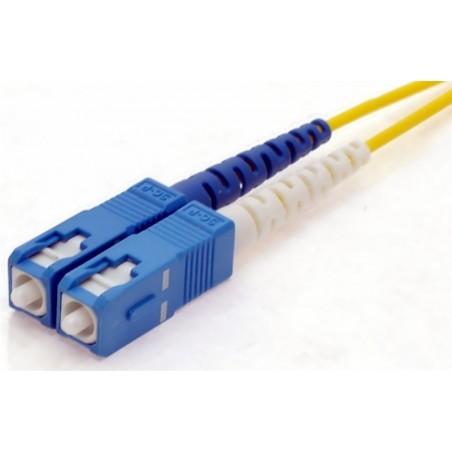 Singlemode SC fiber patchkabel, 9-125 μ, 100 meter