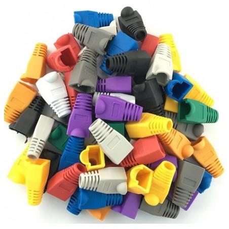 RJ45 Kappe i forskellige farver