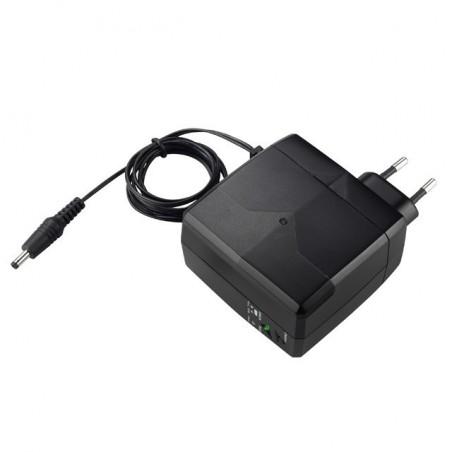 Strømforsyning med indbygget Li-ion batteri, DC12V,
