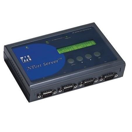 Moxa 1 ports industriel serieportserver NPort Server Lite (Moxa DE-301)
