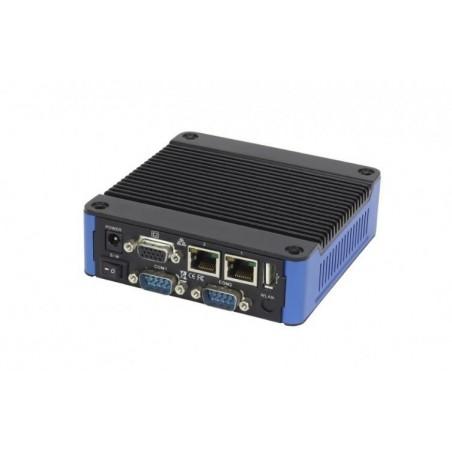 Blæserløs Mini IPC med bred driftstemperatur med 4 x seriel port