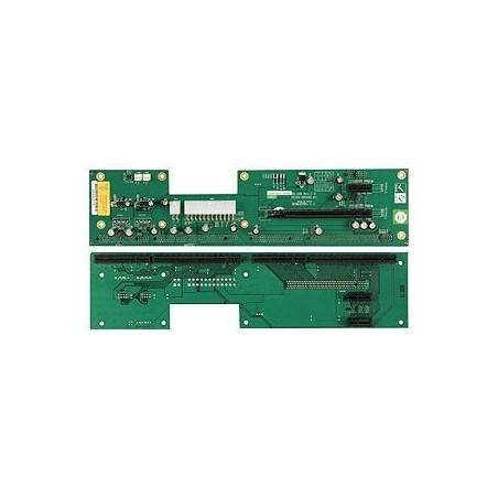 Buskort med 4x PCIE og 1x PICMG 1.3
