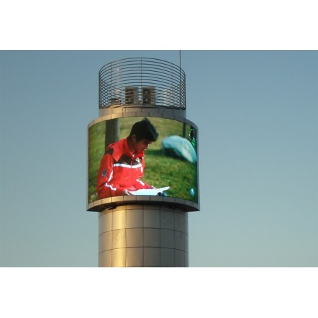 1 udendørs LEDpanel 48x48pixel