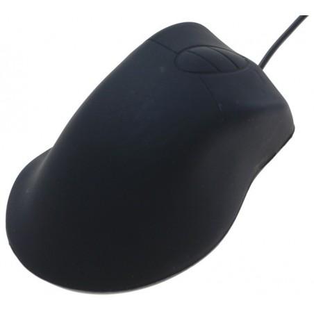 Vandtæt mus i silikone med USB og PS2