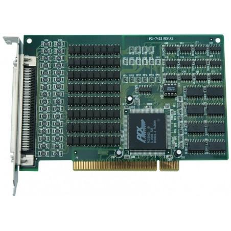 ADLINK's PCI-7433. 64 kanalers isolerede digitale indgange, PCI