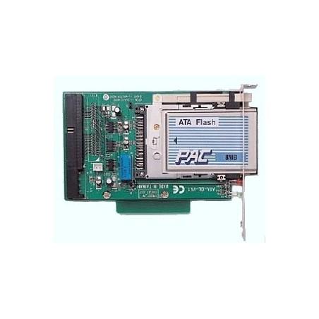 PCMCIA flash memory læser m. IDE. Læser alle typer flash memory