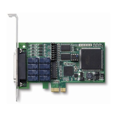 Adlink LPCIE-7250. 8 kanals relæ output, 8 isolerede digitale input, PCI Express, Low Profile