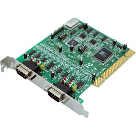2 RS232 / 422 / 485 seriel porte til PCI, 2 x DB9 han