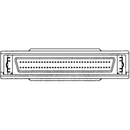 SCSI terminator, intern Mini DB68 han-hun, gennemgang
