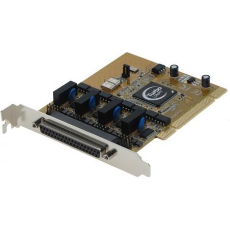 4 RS232 serielle porte til PCI