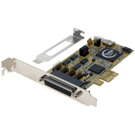 1 - 4 RS232 serielle porte til PCI Express
