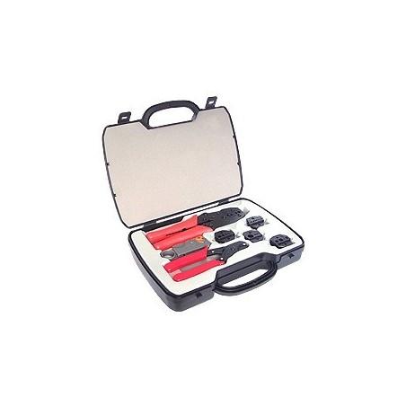 Værktøjssæt med afisoleringstang og monteringstang