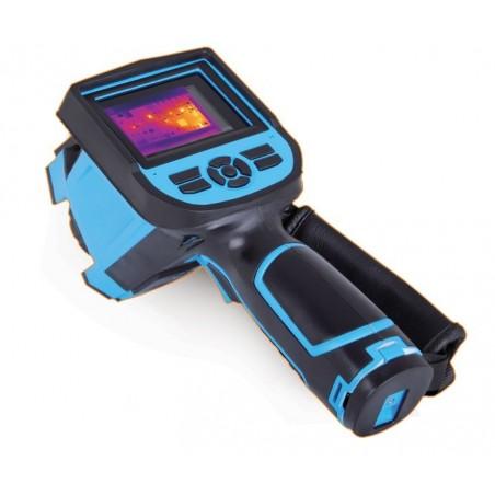 Højopløseligt termokamera. Termografering. Temperaturkamera til analyse af varmeudstråling