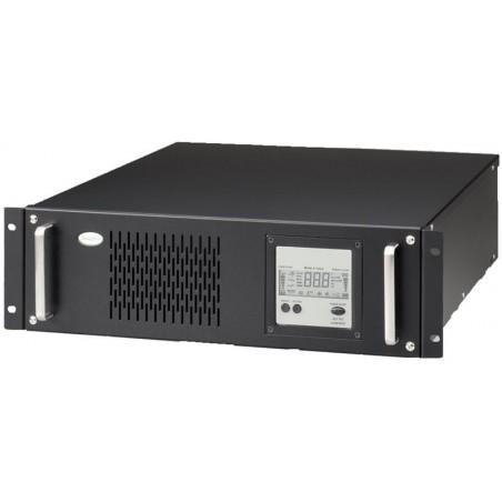 "4000 VA UPS, nødstrømforsyning til 19"" rackmontage, inkl. batterier"