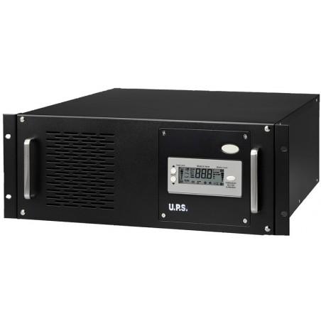 "5000 VA UPS, nødstrømforsyning til 19"" rackmontage, inkl. batterier"