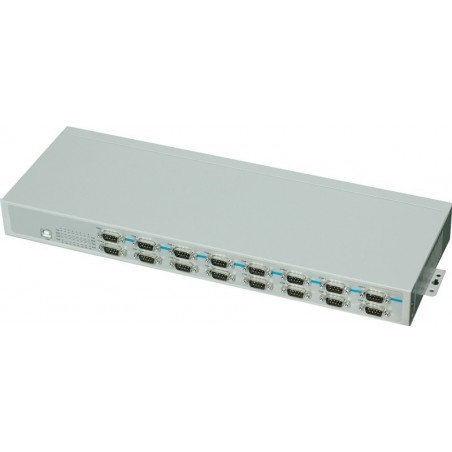 USB til 16 x RS232 konverter - rack montering kit