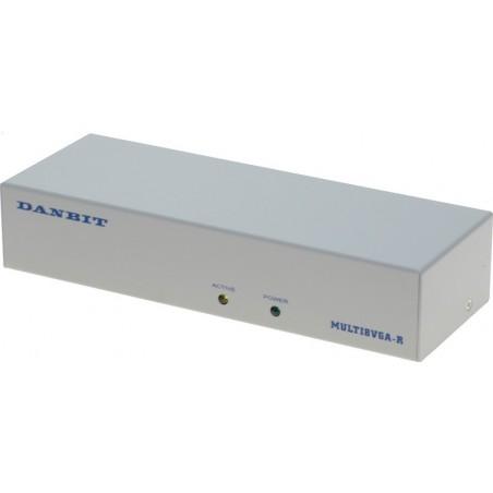 VGA splitter,300MHz, til 8xTFT
