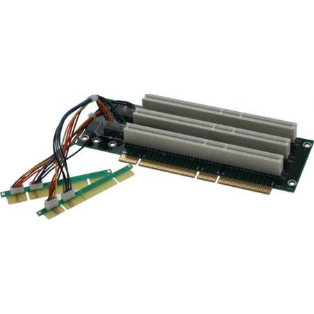Vinkelstik til PCI, 3x PCI, 64bit