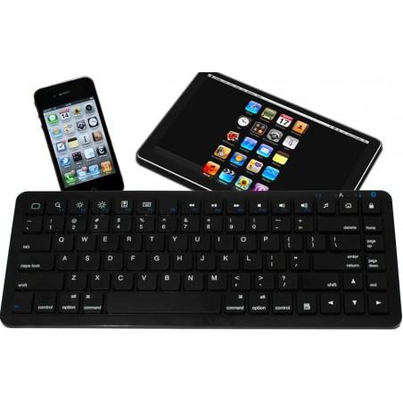 Svart minitastatur med Bluetooth til iPad