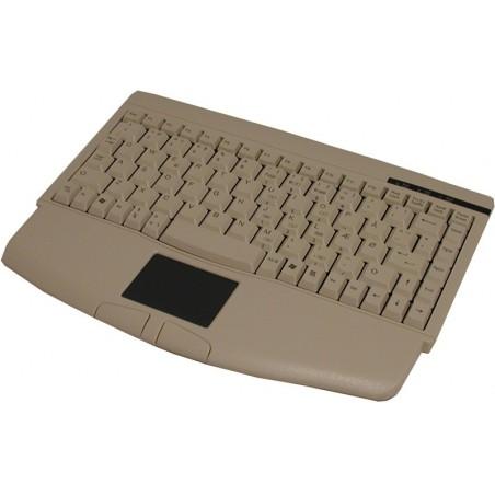 Standard ministastatur i beige, med touchpad til PS/2, norsk