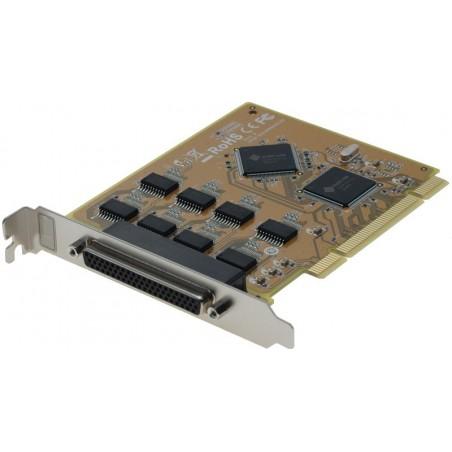 8 x RS232 serielle porte til PCI
