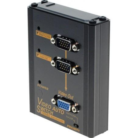 Automatisk omskifter mellem 2 VGA signalkilder
