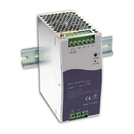 24VDC/5A strømforsyninger, DIN-skinne