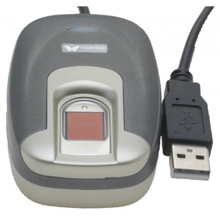 Programmerbar fingeraftryk scanner