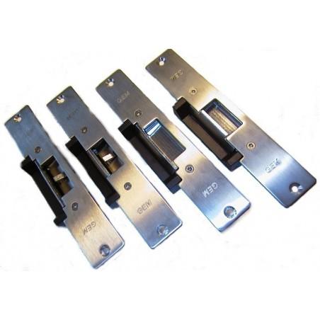 Elektronisk låseblik til dørkarm. Undgå at skifte dørlåsen ud i døren ved montering af adgangskontrol