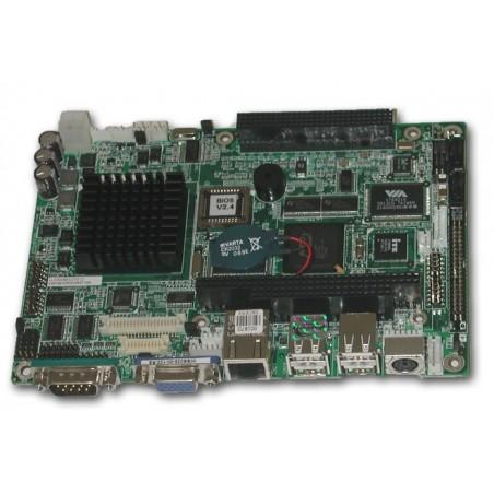 Embedded bundkort med AMD Geode 500 MHz