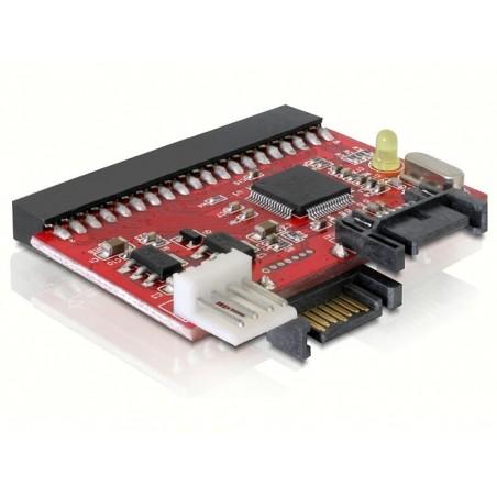 """40 Pins (3½"""") IDE til SATA og SATA til IDE konverter, Tilslut SATA HDD til ældre PCér"""