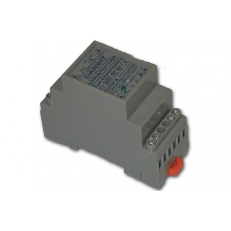 24VDC/400mA, Din-Skinne, lineær