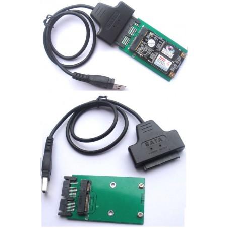 Konverter USB til Micro SATA