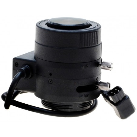 Objektiv, 2,8-12,0 mm, 2MP 1080P IR, automatisk blænde