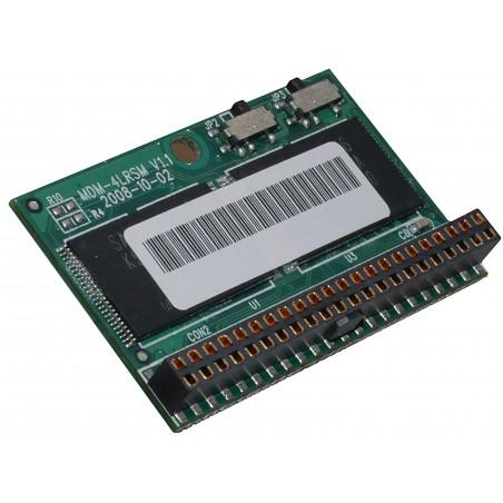 44 pin DiskOnModule (DOM) til IDE Solid State disk til direkte tilslutning på IDE porten