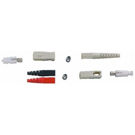 Løst SC hanstik til kabelmontage, simplex