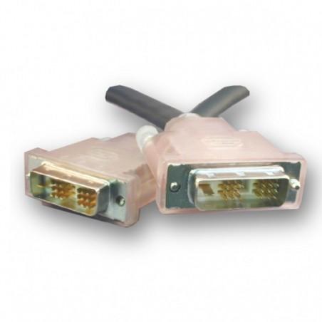 SLAC DVI kabel. Single Link, DVI-D han – DVI-D han, 5,0 meter