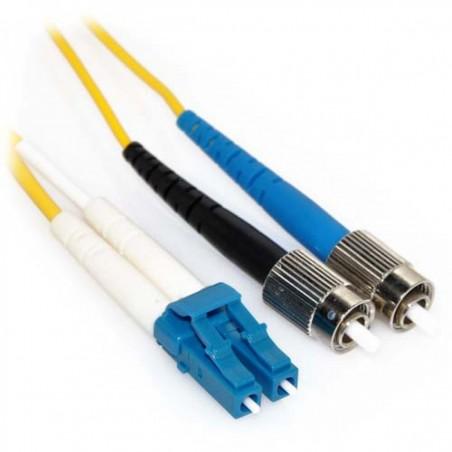 Singlemode fiber patchkabel LC-FC, 9-125 μm, 20 meter