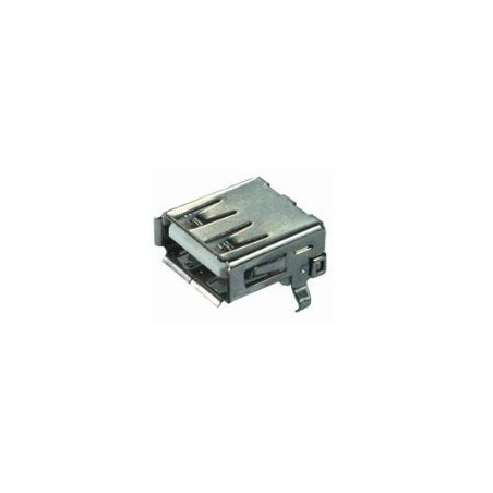 Løst USB A hun stik til PCB lodning