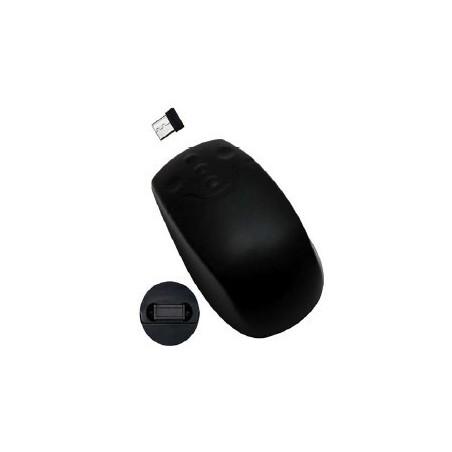 Trådløs IP68 tæt mus, sort
